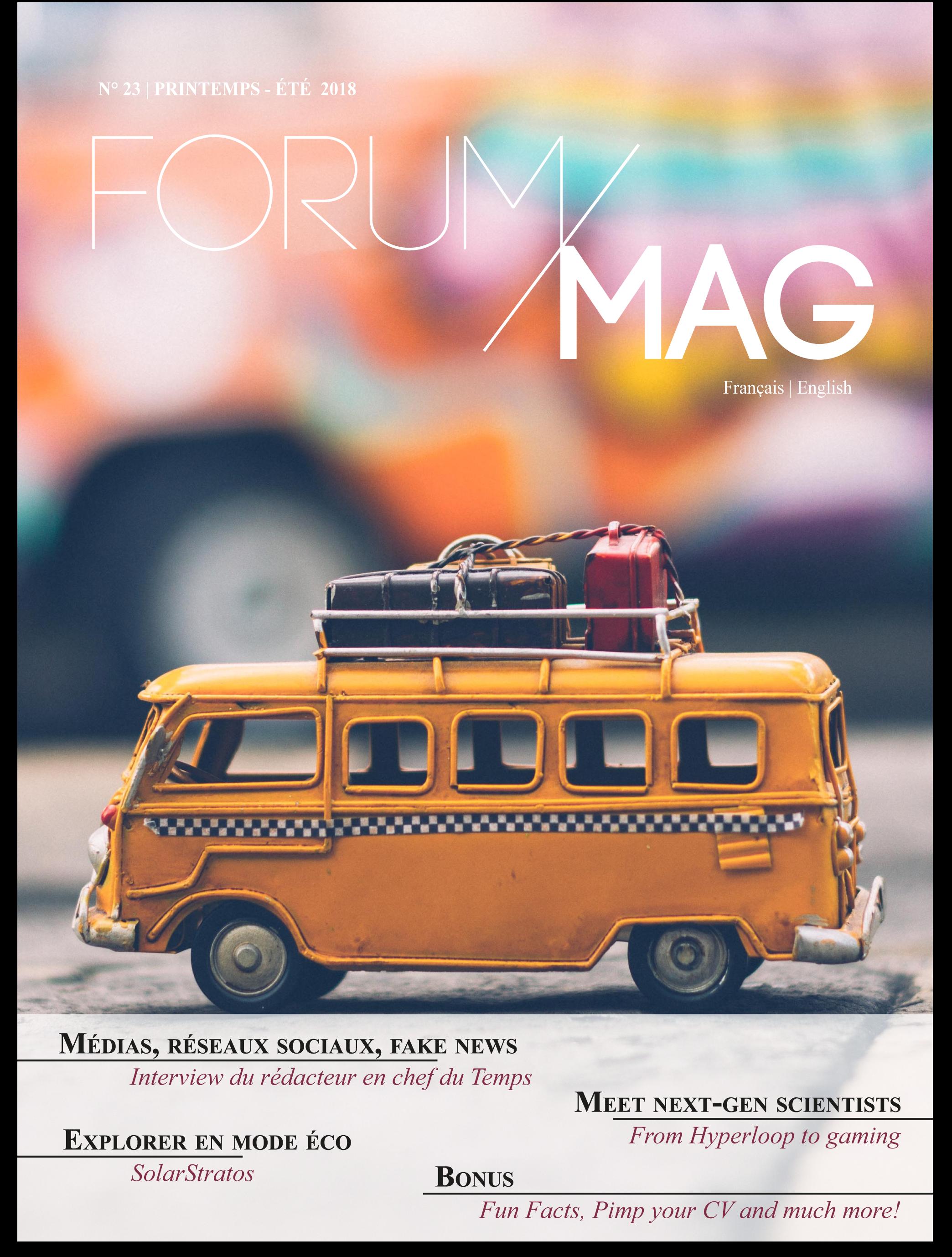 Forum Magazine Printemps 2018